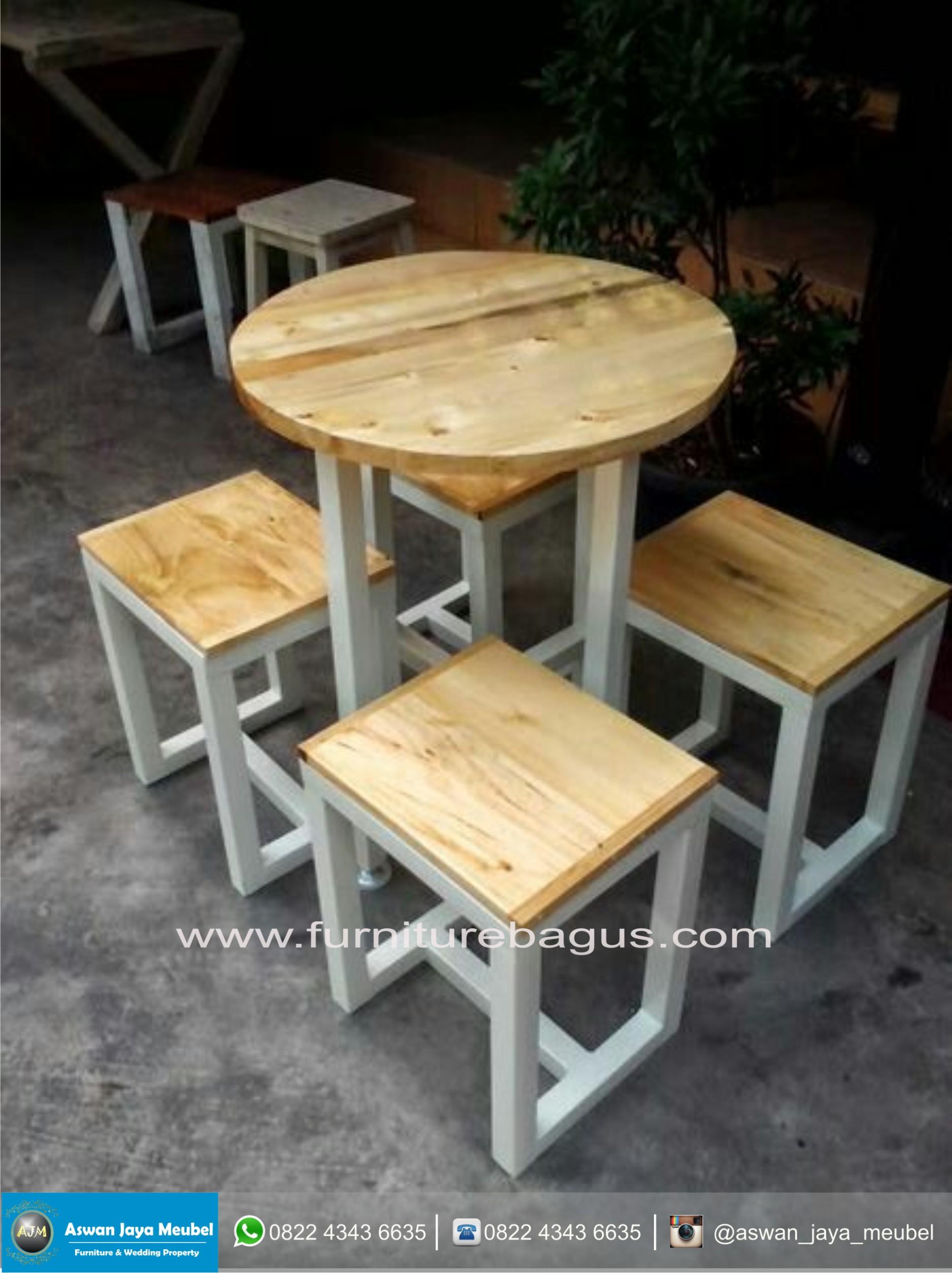 Kursi Cafe Minimalis Terlaris Aswan Jaya Meubel