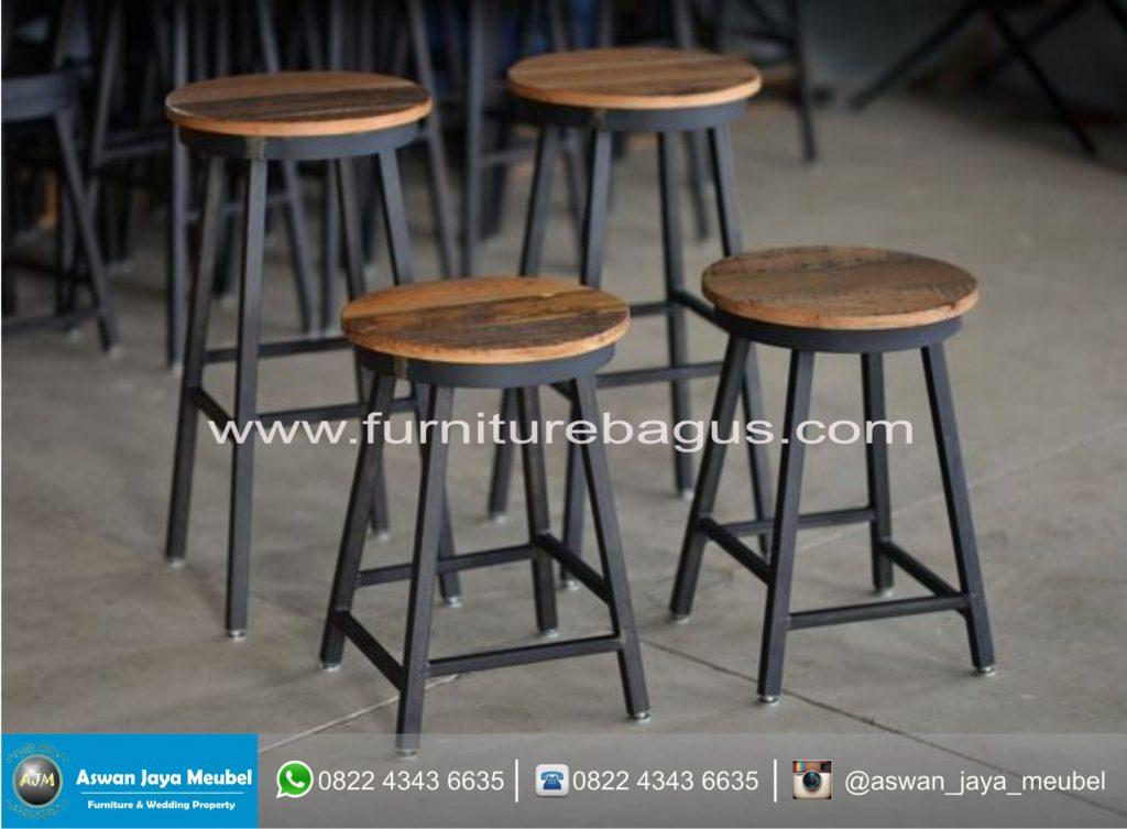 Kursi Cafe Besi New Dari Furniture Bagus Aswan Jaya Meubel