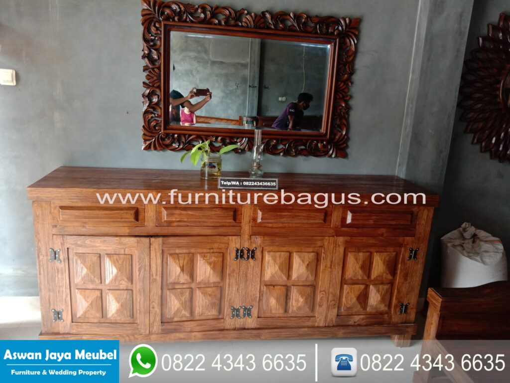 Cabinet Tv Diamond Rustic