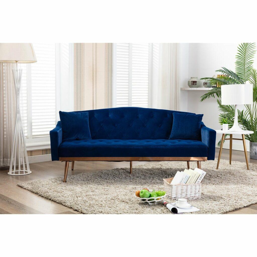Sofa Blue Metal Candy
