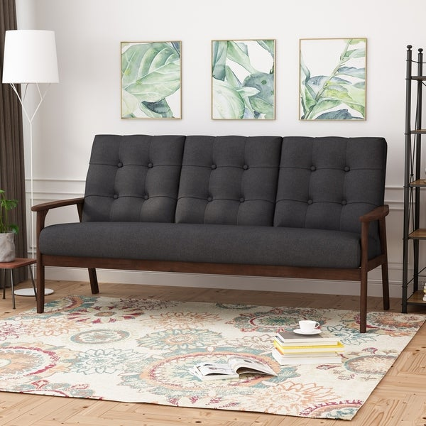 Simple Sofa Dark Grey